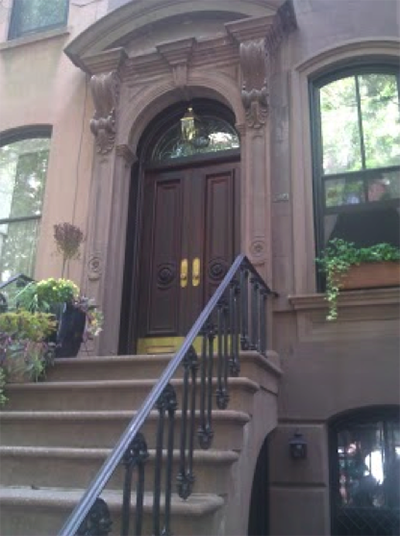 Emma lives in Greenwich Village at a place like this.