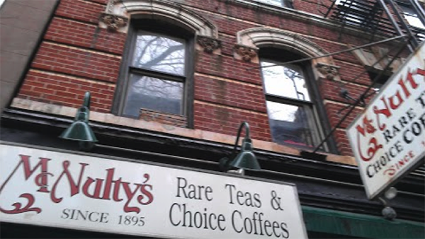 Warwick Tea has been on the same street in Greenwich Village since the late 1800's like this